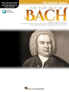 BACH J.S. - INSTRUMENTAL PLAY-ALONG  VERY BEST OF BACH TENOR SAX + ONLINE AUDIO ACCESS