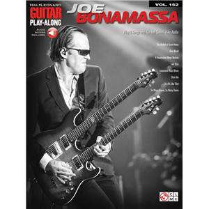 BONAMASSA JOE - GUITAR PLAY-ALONG VOL.152 + AUDIO ONLINE ACCESS