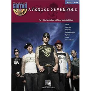 AVENGED SEVENFOLD - GUITAR PLAY ALONG VOL.134 + CD