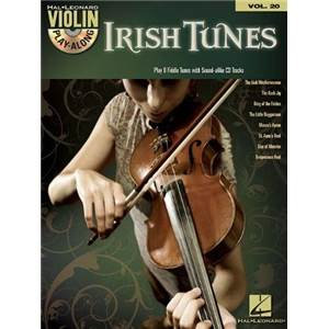 COMPILATION - VIOLIN PLAY ALONG VOL.020 IRISH TUNES + CD