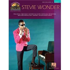 WONDER STEVIE - PIANO PLAY ALONG VOL.111 + CD