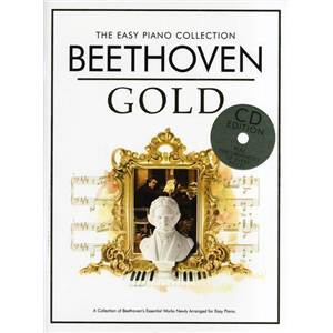 BEETHOVEN - EASY GOLD ESSENTIAL PIANO COLLECTION + CD