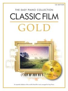 COMPILATION - EASY GOLD CLASSICAL FILM  ESSENTIAL PIANO COLLECTION + CD