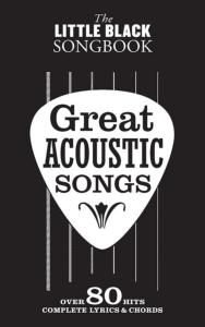 COMPILATION - LITTLE BLACK SONGBOOK GREAT ACOUSTIC SONGS 80 HITS