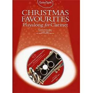 COMPILATION - GUEST SPOT CHRISTMAS FAVOURITES PLAY ALONG FOR CLARINET + CD