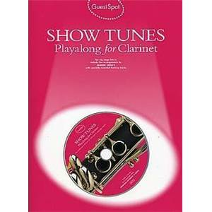 COMPILATION - GUEST SPOT SHOW TUNES PLAY ALONG FOR CLARINET + CD
