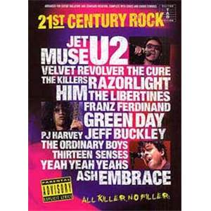 COMPILATION - 21ST CENTURY ROCK VOL.5 GUIT.TAB
