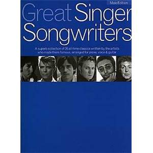 COMPILATION - GREAT SINGER SONGWRITERS MALE EDITION P/V/G