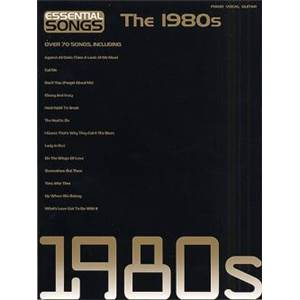 COMPILATION - ESSENTIAL SONGS OF THE 1980'S P/V/G