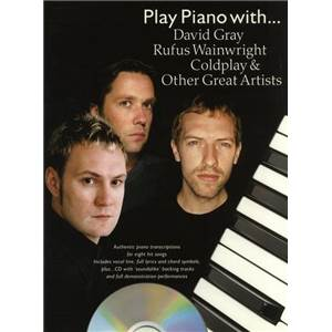 COMPILATION - PLAY PIANO WITH BEN FOLDS, COLDPLAY, EMBRACE, ATHLETE... + CD