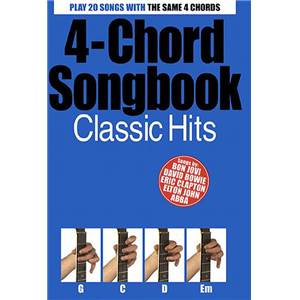COMPILATION - 4 CHORD SONGBOOK : CLASSIC HITS