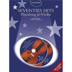 COMPILATION - GUEST SPOT SEVENTIES HITS POUR VIOLON + 2CDS