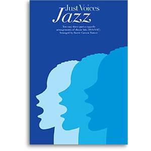 COMPILATION - JUST VOICES JAZZ 10 HITS SSA/SAT/PIANO