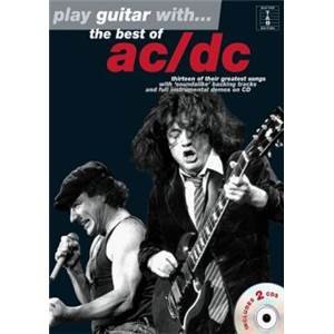 AC/DC - PLAY GUITAR WITH BEST OF + 2CD