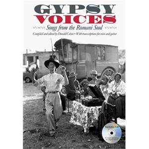 COMPILATION - GYPSY VOICES SONGS FROM THE ROMANI SOUL P/V/G + CD