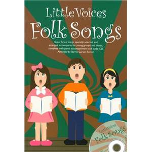 COMPILATION - LITTLE VOICES FOLK SONGS SS / PFA + CD
