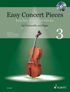 EASY CONCERT PIECES VOL.3 +CD - VIOLONCELLE ET PIANO