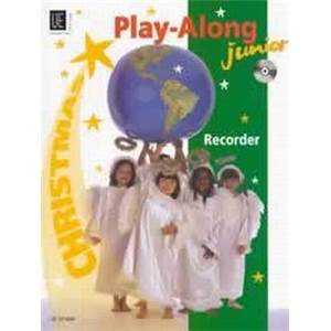 COMPILATION - WORLD MUSIC JUNIOR CHRISTMAS (NOEL) FLUTE A BEC/PIANO + CD