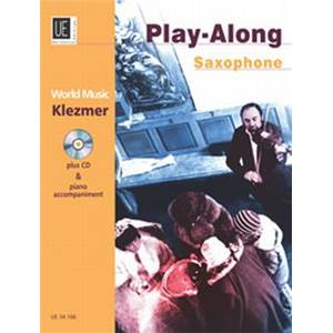 COMPILATION - WORLD MUSIC KLEZMER SAXOPHONE/PIANO + CD