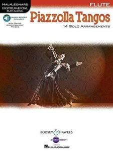PIAZZOLLA ASTOR - PIAZZOLA TANGOS FLUTE + AUDIO-DOWNLOAD - FLUTE TRAVERSIERE