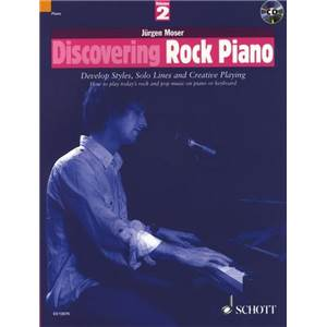 MOSER JURGEN - DISCOVERING ROCK PIANO VOL.2 + CD PIANO