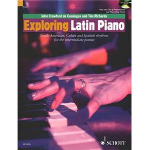 RICHARDS TIM / CRAWFORD JOHN - EXPLORING LATIN PIANO + CD PIANO