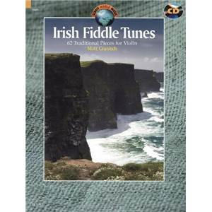 IRISH FIDDLE TUNES +CD (62 PIECES TRADITIONNELLES IRLANDAISES) - VIOLON
