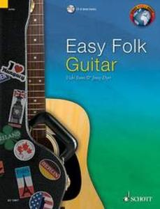 EASY FOLK GUITAR (29 PIECES TRADITIONNELLES) +CD - GUITARE