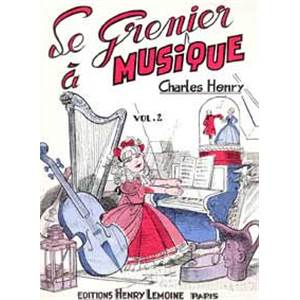 CHARLES-HENRY - GRENIER A  MUSIQUE VOL.2 - PIANO JAZZ