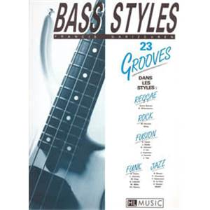 DARIZCUREN FRANCIS - BASS STYLES : 23 GROOVES - GUITARE BASSE