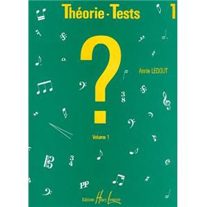 LEDOUT ANNIE - THEORIE TESTS VOL.1