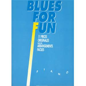 HEUMANN HANS GUNTER - BLUES FOR FUN POUR PIANO