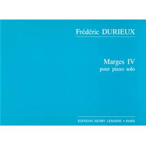 DURIEUX FREDERIC - MARGES IV - PIANO