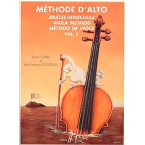 GARLEJ/GONZALES - METHODE D'ALTO VOL.2 - ALTO
