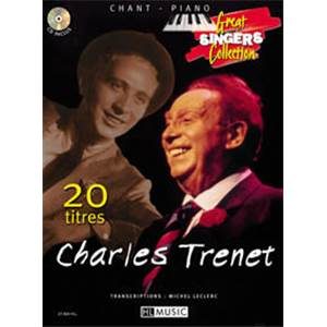 TRENET CHARLES - 20 TITRES CHANT/PIANO 20 TITRES + CD