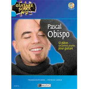 OBISPO PASCAL - GUITARE SOLO VOL.2 + CD