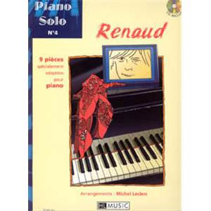 RENAUD - PIANO SOLO VOL.4 + CD
