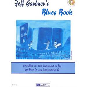 GARDNER JEFF - BLUES VOL.INSTRUMENT EN C + CD