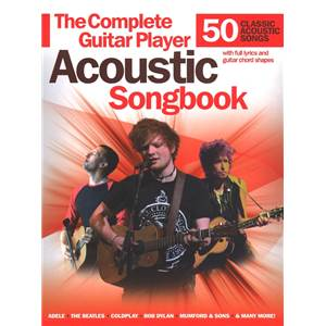 COMPILATION - THE COMPLETE GUITAR PLAYER 50 ACOUSTIC SONGS M/L/C