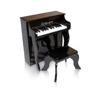 DELSON PIANO BEBE 25 TOUCHES NOIR
