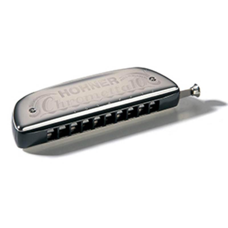 harmonica chromatique 10 hohner chrometta 253 40. Black Bedroom Furniture Sets. Home Design Ideas