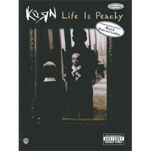 KORN - LIFE IS PEACHY TAB.