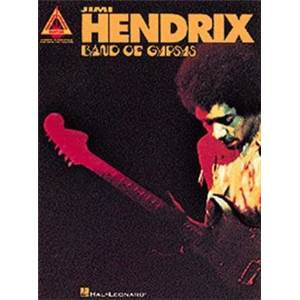 HENDRIX JIMI - BAND OF GYPSYS GUITAR TAB.
