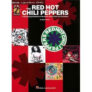 RED HOT CHILI PEPPERS - GUITAR SIGNATURE LICKS + CD