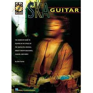 TURNER DALE - SKA GUITAR METHOD TAB. + CD