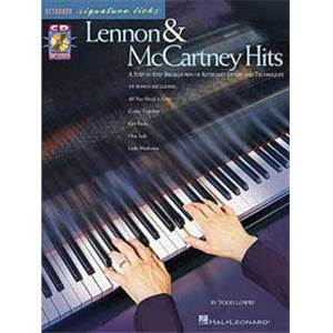 LENNON / MCCARTNEY - HITS SIGNATURE LICKS KEYBOARD + CD