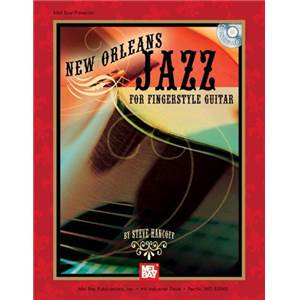 HANCOFF STEVE - NEW ORLEANS JAZZ FOR FINGERSTYLE GUITAR TAB. + CD