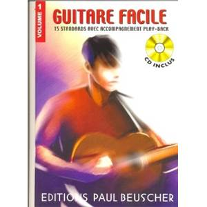 COMPILATION - GUITARE FACILE 15 STANDARDS VOL.1 + CD