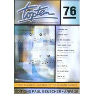 COMPILATION - TOP TEN NO.76 COMPILATION VARIETES TOUS INSTRUMENTS