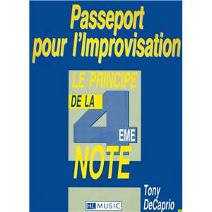 CAPRIO TONY - PASSEPORT POUR L'IMPROVISATION - GUITARE